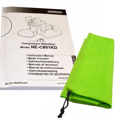 Ингалятор Omron Ингалятор компрессорный NE-C801KD - фото 3