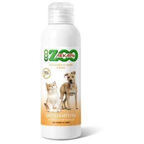 ZOOлекарь БИОшампунь ЭКО антипаразитный для кошек и собак, 200мл - фото 1
