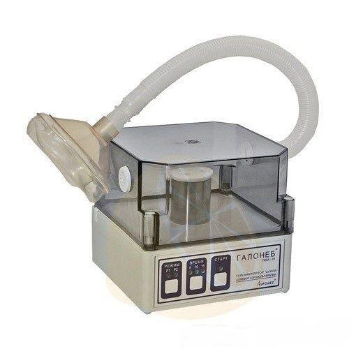 Медицинское оборудование Аэромед Галоингалятор сухой солевой аэрозольтерапии индивидуальный настольный ГИСА-01 - фото 1