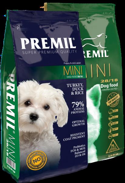 Premil Корм для собак Mini SuperPremium 1 кг - фото 1
