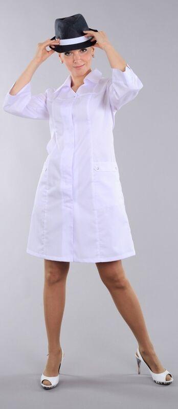 Доктор Стиль Халат медицинский женский Барбара (лл2124) - фото 5