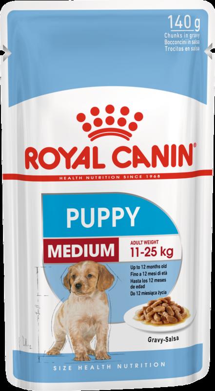 Royal Canin Medium Puppy 140гр.х10шт. - фото 1