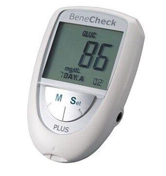 Система контроля крови General Life Biotechnology BeneCheck Plus контроль уровня Холестерина, Глюкозы, Мочевой кислоты - фото 1