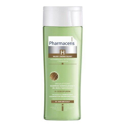 Pharmaceris Шампунь для себорейной кожи, жирных волос H-Sebopurin специальный нормализующий 250 мл - фото 1