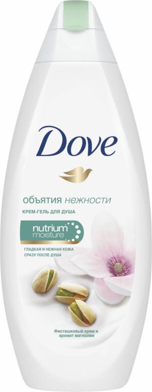 Dove Крем-гель для душа «Фисташковый крем и магнолия», 250 мл - фото 1