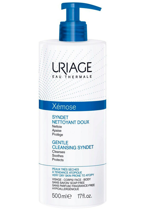 Uriage Гель очищающий мягкий Xemose Syndet 500 мл - фото 1