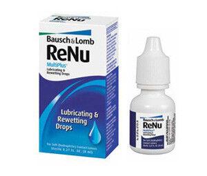 Средство по уходу и аксессуар для линз Bausch+Lomb ReNu MultiPlus 8 - фото 1