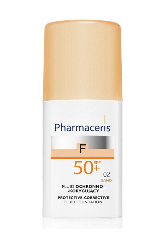 Pharmaceris Флюид защитный тональный SPF50+ (тон: 02 песочный), 30 мл - фото 1