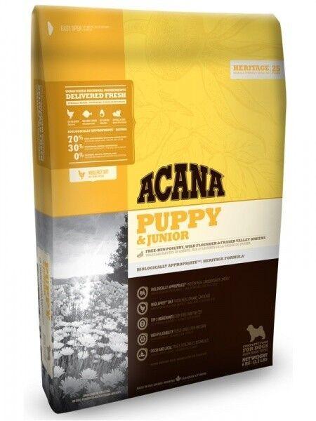 Acana Корм Puppy & Junior (для щенков) 11.4 кг - фото 1