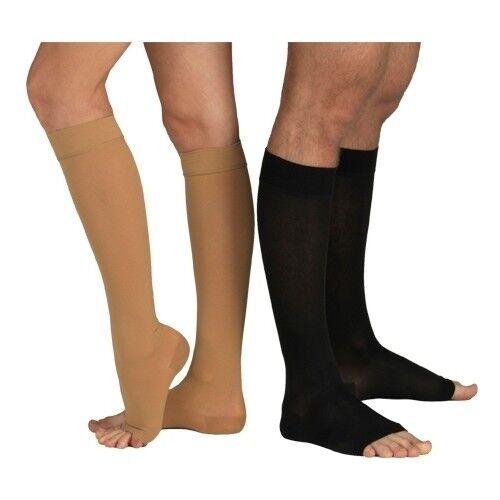 Tonus Elast Чулки 0408 с открытым носком, 1 класс - фото 1
