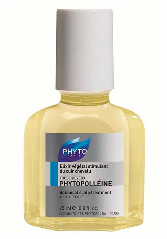 Phyto Paris Концентрат стимулирующий для кожи головы PHYTOPOLLEINE ELIXIR VEGETAL STIMULANT DU CUIR CHEVELU, 25 мл - фото 1