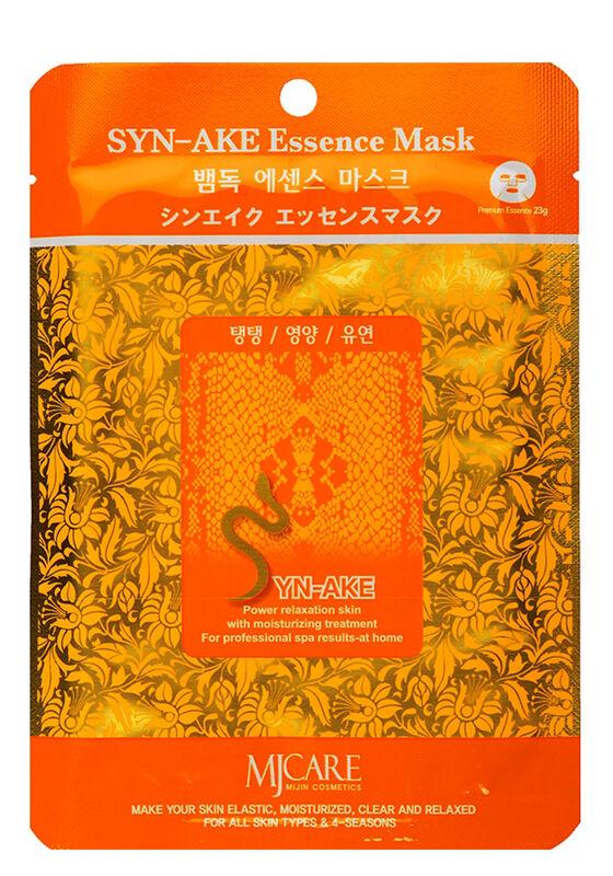 Mijin Маска тканевая змеиный яд Syn-Ake Essence Mask 23гр - фото 1