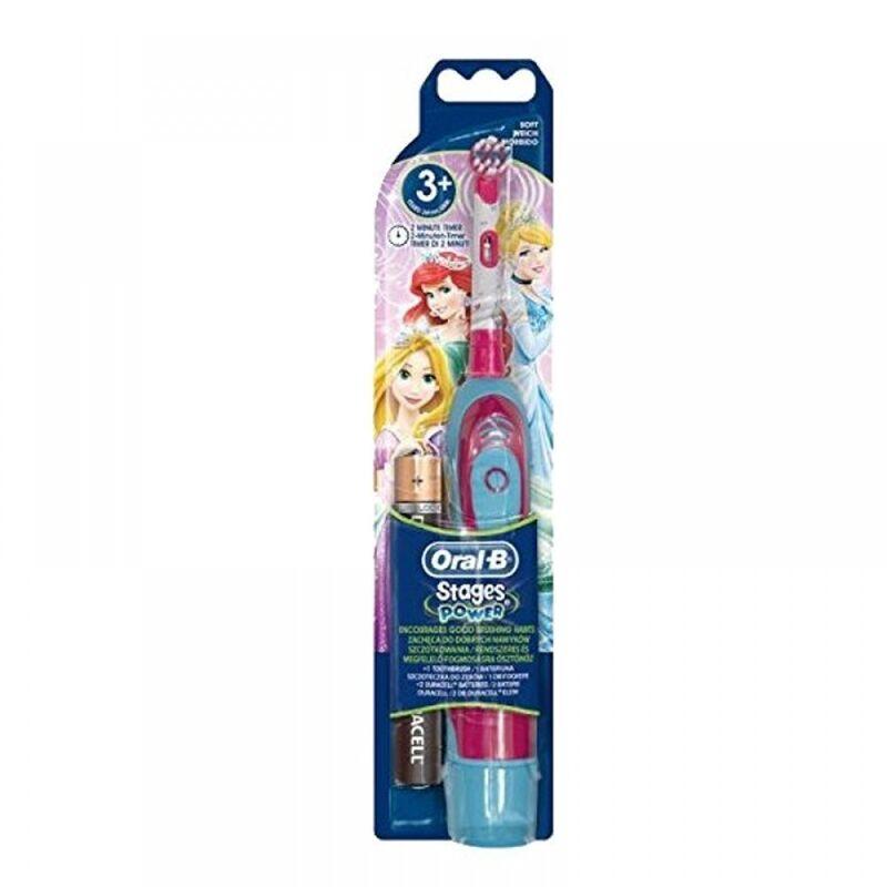 Oral-B Детская электрическая зубная щетка Stages Power Princess (DB4.510.K) - фото 1