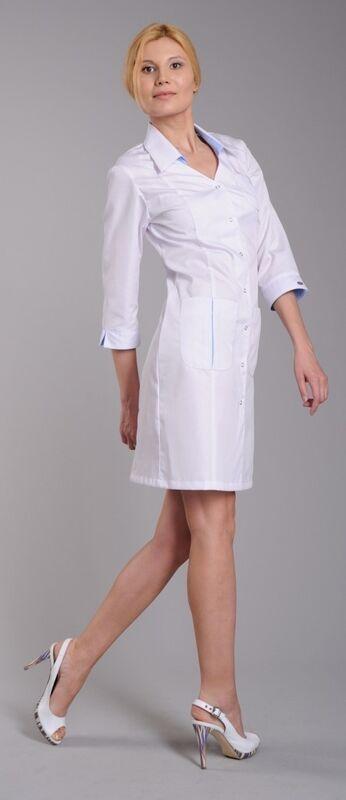 Доктор Стиль Халат медицинский женский Соната (лс3125) - фото 1