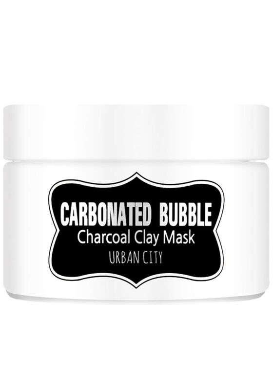 Baviphat Маска для лица глиняно-пузырьковая на основе угольного порошка Carbonated Bubble Charcoal Clay Mask 100мл - фото 1