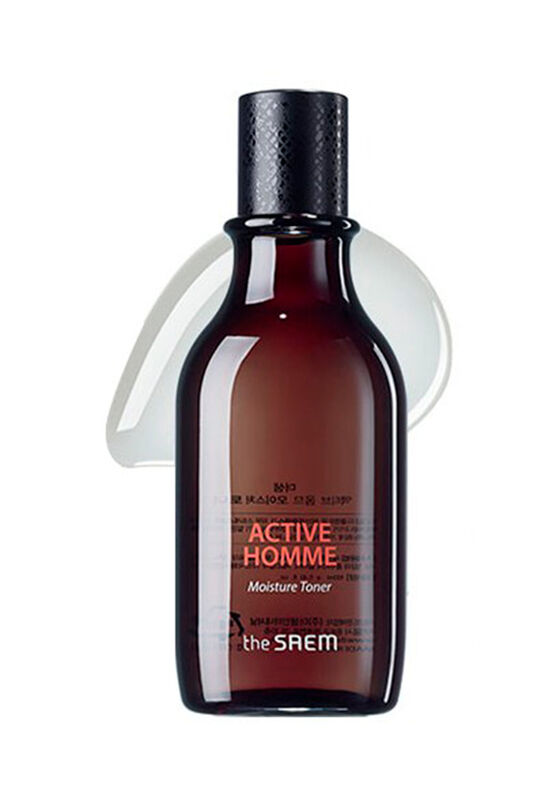 The Saem Тонер для мужской кожи увлажняющий Active Homme Moisture Toner 160 мл - фото 1