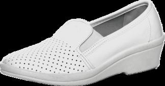 Спецобъединие Туфли Галя, женские, белые, натуральная кожа - фото 1
