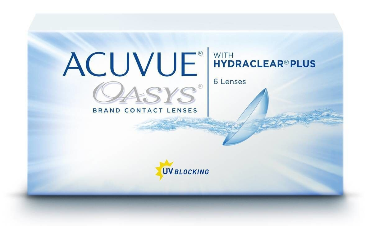Контактные линзы Johnson&Johnson Acuvue Oasys with Hydraclear Plus - фото 1