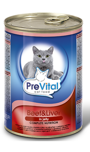 Prevital Premium line Beef and Liver Jelly - фото 1