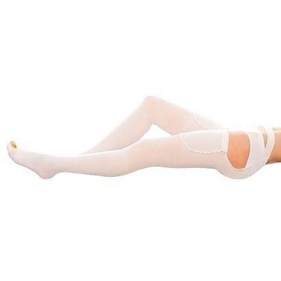 Venoteks Чулки с открытым носком и фиксирующим поясом - фото 1