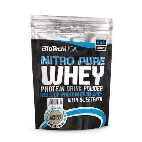 BioTech Протеин 100% Nitro Pure Whey 500гр - фото 1
