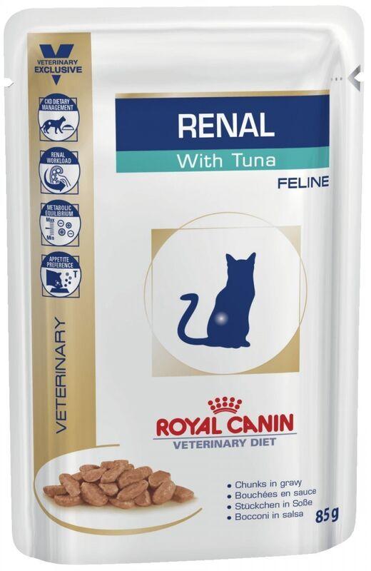 Royal Canin Renal c тунцом 85 гр. х 12 шт. - фото 1