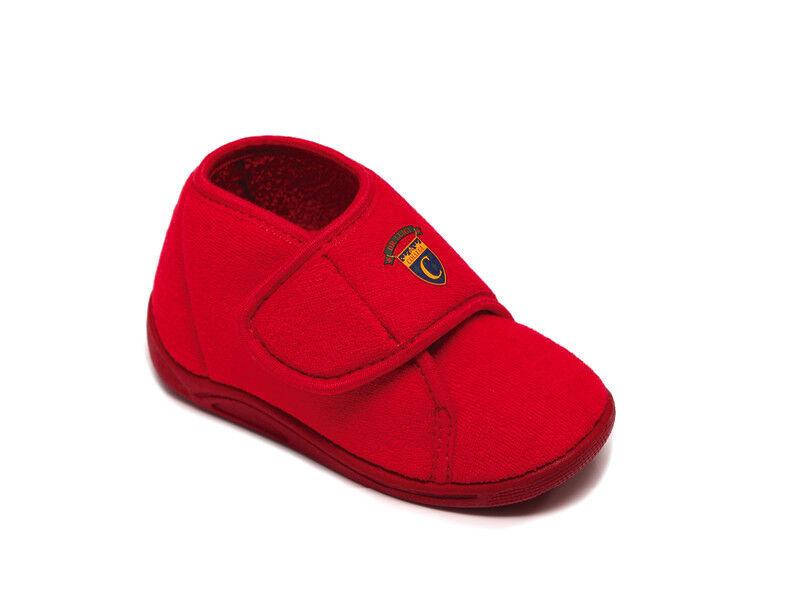 DrLuigi Детские анатомические тапочки PU-04-02-TP красные - фото 1