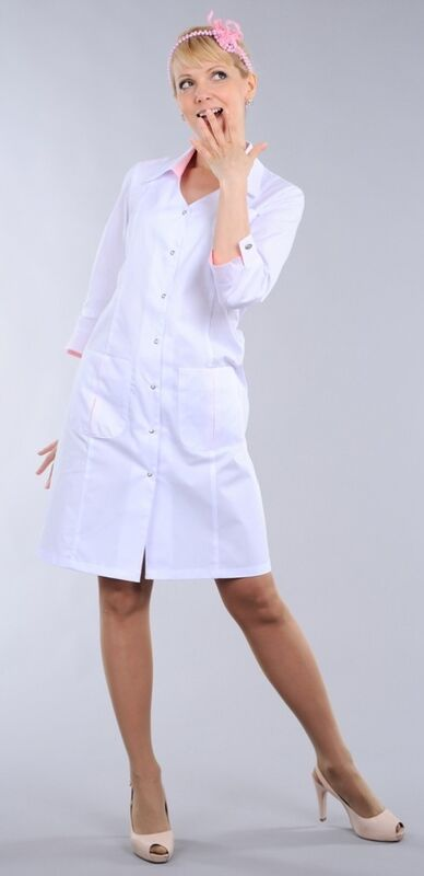 Доктор Стиль Халат медицинский женский Соната (лс3125) - фото 2