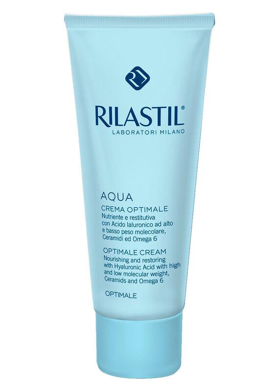 Rilastil Крем для лица питательный и восстанавливающий AQUA Оптималь, 50 мл - фото 1