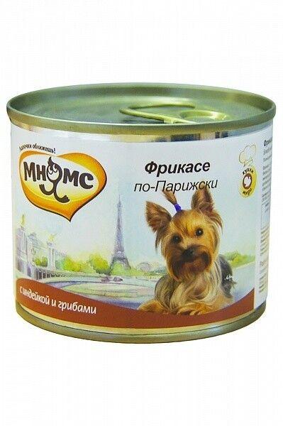 Мнямс Консервы для собак Фрикасе по-парижски 200 гр. х 6 шт. - фото 1