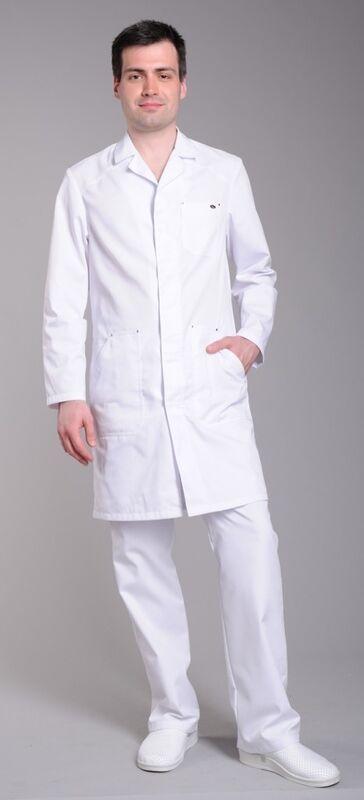 Доктор Стиль Халат медицинский мужской Практик (лл2113) - фото 2