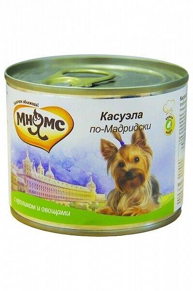 Мнямс Консервы для собак Касуэла по-мадридски 200 гр. х 6 шт. - фото 1