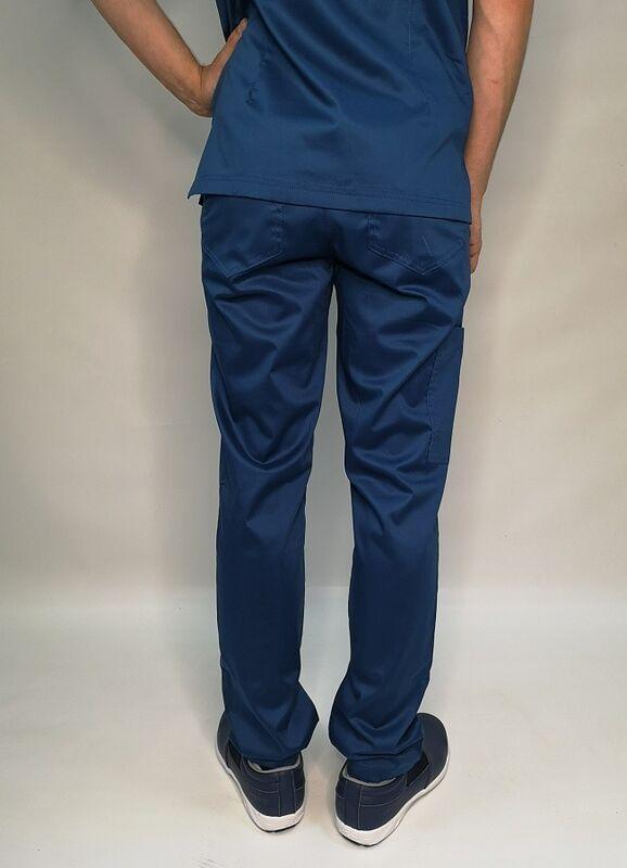 Доктор Стиль Медицинские брюки «Софт М» темно-синие Брю 3410.48 - фото 3