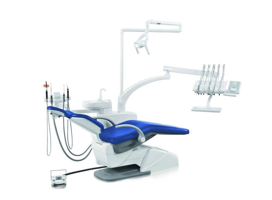 Стоматологическое оборудование Siger Стоматологическая установка S60 с верхней подачей инструментов - фото 1
