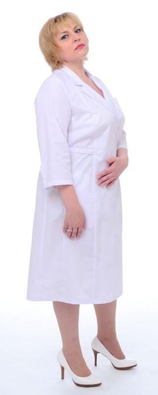 Доктор Стиль Халат медицинский женский Леди (лс3127) - фото 4