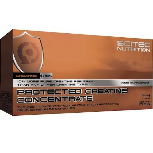 Scitec Nutrition Креатин Protected Creatine Concentrate 144 капс. - фото 1