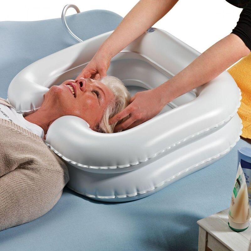 Прокат медицинских товаров ARmedical Ванночка надувная для мытья головы - фото 1
