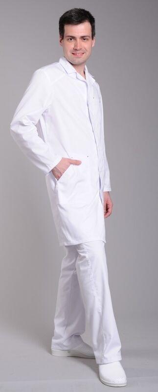Доктор Стиль Халат медицинский мужской Практик (лл2113) - фото 1