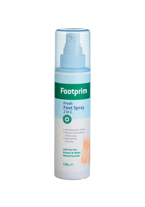 Footprim Дезодорант Антиперспирант для ног 2 в 1 Fresh Foot Spray 150 мл - фото 1