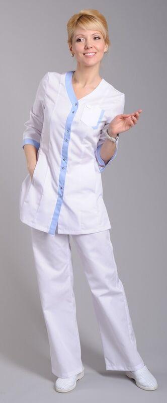 Доктор Стиль Блуза медицинская женская Капель (лу1222) - фото 3