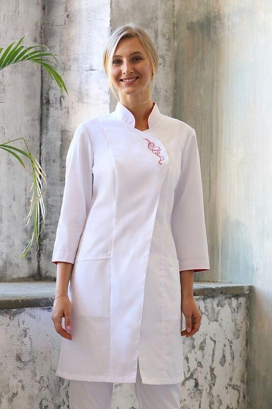 Доктор Стиль Блуза медицинская женская «Восток» ЛЛ 2223.21 - фото 2