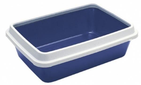 """Ferplast Туалет-лоток """"Dodo"""" 42.5x31x13 см (голубой) - фото 1"""
