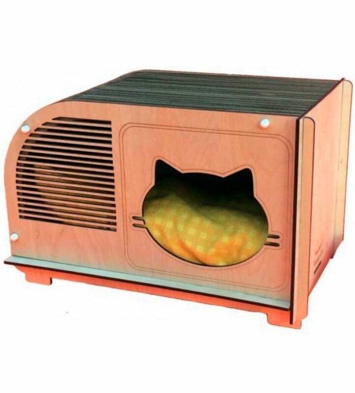 Весь дом Домик для котов «Меломан» - фото 1