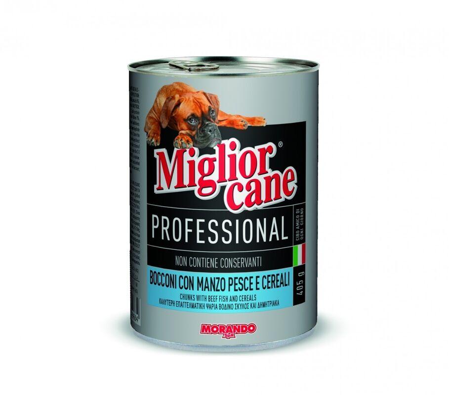 Miglior Professional Meat Fish Cereals 405 гр. х 12 шт. - фото 1