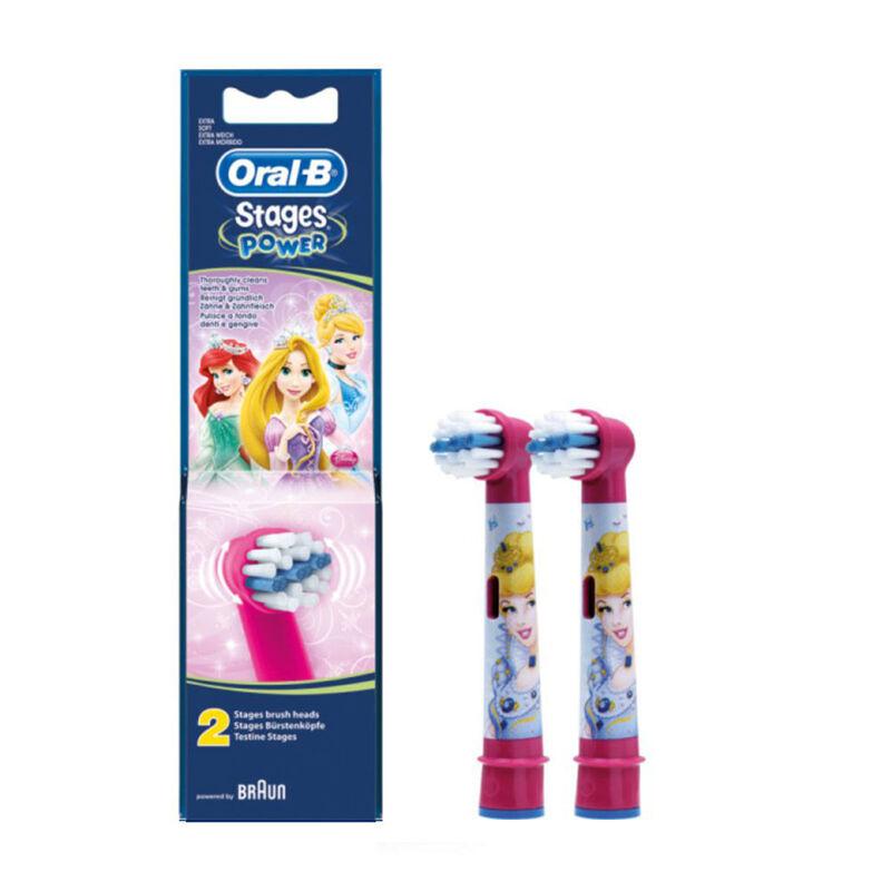 Braun Детские сменные насадки Oral-B Stages Power Disney EB10 (2 шт) - фото 1
