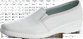 Спецобъединие Туфли Мила, женские, белые, кожаные, 5504 - фото 1