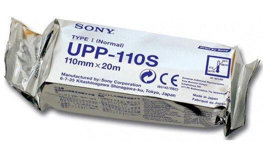 Медицинское оборудование Sony Термобумага для видеопринтеров UPP-110S - фото 1