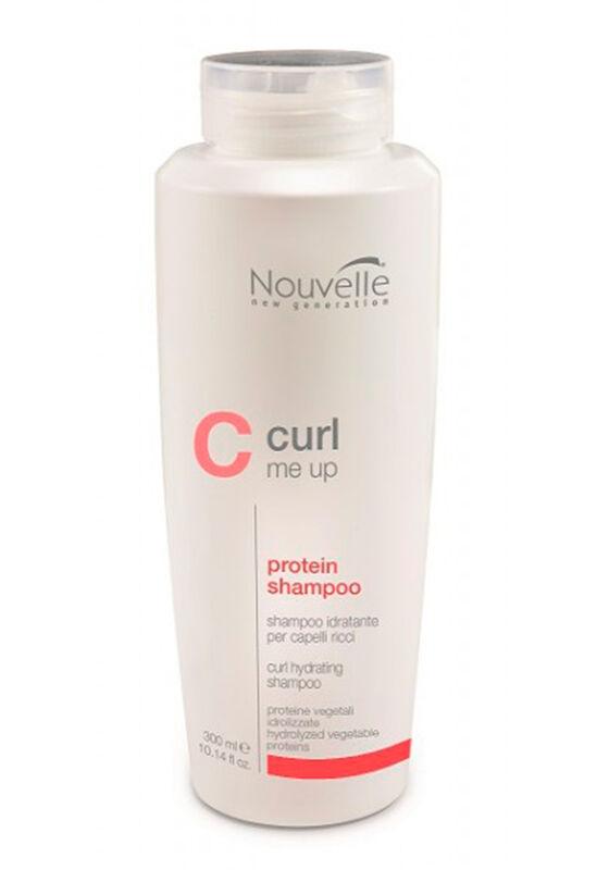 Nouvelle Шампунь питательный для кудрявых волос CURL ME UP PROTEIN SHAMPOO 250 мл - фото 1