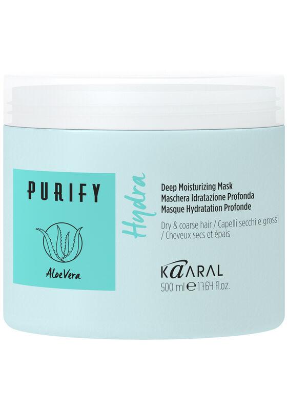Kaaral Интенсивная увлажняющая маска для волос Purify Hydra Deep Nourishing 500 мл - фото 1