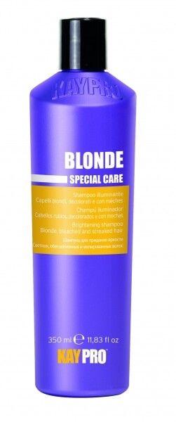 KayPro Специальный шампунь Special care blonde с кристаллами сапфира для светлых, осветленных и мелированны - фото 1